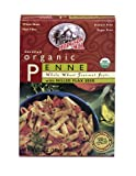 Hodgson Mill Organic Whole Wheat Penne with Milled Flaxseed, 12-Ounce Units (Pack of 8)