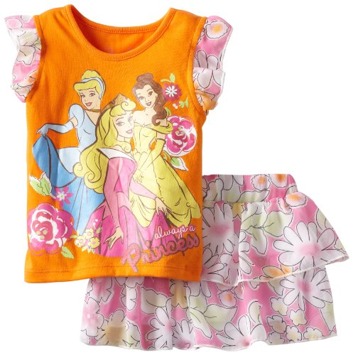 Disney девочки 2-6х малыша принцесса цветочные…