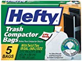 Hefty Twist Tie Trash Compactor Bags (Pack of 12)