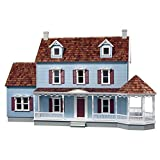 Real Good Toys Real Good Toys Maple Hill Dollhouse, Brown, Milled MDF