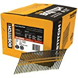 BOSTITCH RH-S12D131EP Round Head 3-1/4-Inch x .131-Inch by 21 Degree Plastic Collated Framing Nail (4,000 per Box)