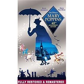 'Mary Poppins' DVD