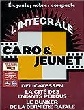 echange, troc Coffret intégrale Caro et Jeunet : Delicatessen / La Cité des enfants perdus / Le Bunker de la dernière rafale