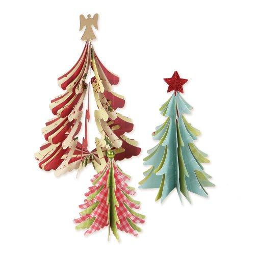 sizzix-fustelle-alberi-di-natale-3d-modelli-assortiti