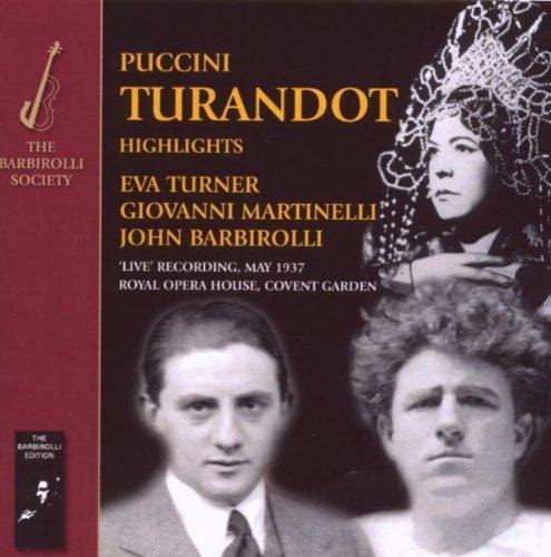 Puccini/Verdi/Rossini-Turandot & Opera by John Barbirolli & Eva Turner (2009-08-04)