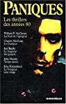 Paniques les thrillers des annees 80 par Baudou