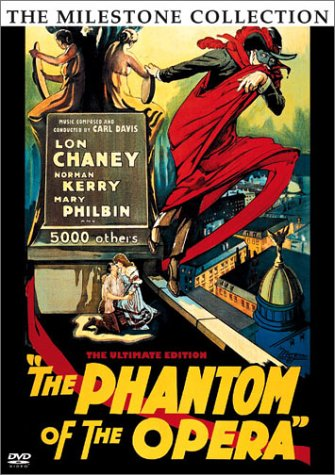 Cover art for  The Phantom of the Opera - The Ultimate Edition (1925 Original Version and 1929 Restored Version)