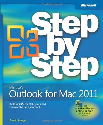 Microsoft Outlook for Mac 2011 Step by Step (Step by Step (Microsoft))