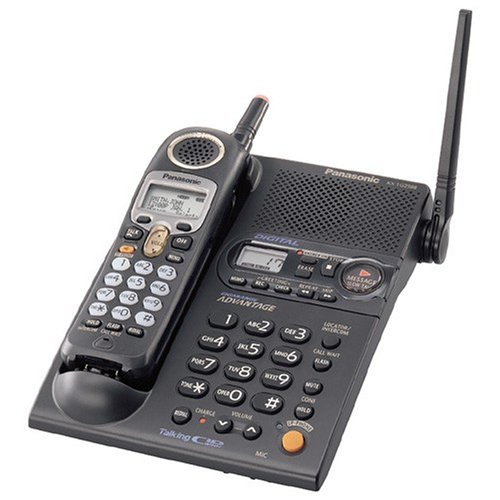 Panasonic KX-TG2386B 2.4 GHz FHSS GigaRange  Digital Cordless Telephone with Amplified Headset (Panasonic Phone Shoulder Rest compare prices)