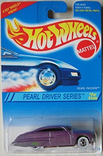 HOT WHEELS PEARL DRIVER SERIES 2/4 PEARL PASSION - 1