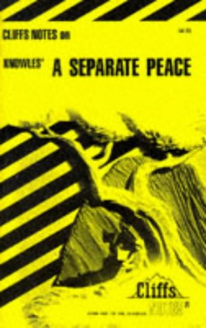 A Separate Peace (Cliffs notes)