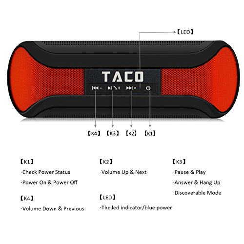 iDeaUSA Taco Wireless Speaker