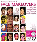 img - for Photoshop Elements 2 Face Makeovers: Digital Makeovers for Your Friends and Family by Katy Freer (2003-07-01) book / textbook / text book
