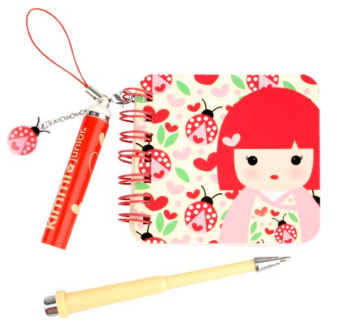 Kids Preferred Kimmidoll Junior Mini Notebook and Pen, Millie