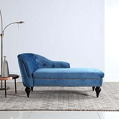 Modern and Elegant Kid's Velvet Chaise Lounge for Living room or Bedroom