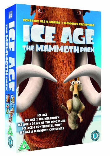 Ice Age 1-4 plus Mammoth Christmas: The Mammoth Collection [DVD]