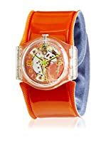 Swatch Reloj de cuarzo Unisex Orange Spring GK348C 34 mm