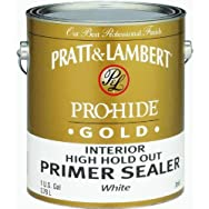 - 0000Z8165-16 Pratt & Lambert Pro-Hide Gold Latex Interior Primer And Sealer