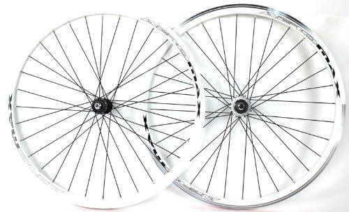 Track Bike Fixed Gear Road WHITE V Wheelset 700c