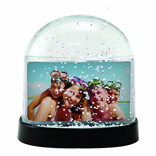 Horizontal Photo Snow Globe| Color| Clear (#2723CH) - Case of 36 (Snowglobe Photo Insert compare prices)