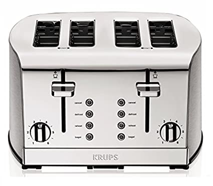 Krups KH734D50 4 Slice Pop Up Toaster