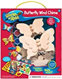 Masterpieces Works of Ahh Wood Paint Kit, Butterfly Wind Chimes