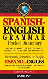 img - for Spanish-English Grammar Pocket Dictionary: 600 Key Terms Fully and Clearly Defined with Exemplary Sentences book / textbook / text book