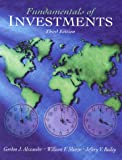 img - for Fundamentals of Investments (3rd Edition) by Alexander Gordon J. Sharpe William F. Bailey Jeffery V. (2000-05-05) Paperback book / textbook / text book