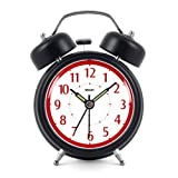 Modern Fashion Lovely Colorful Metal Alarm Clock Black 921