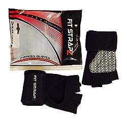FitStrapZ Crossfit Fitness Gloves, Small/Medium