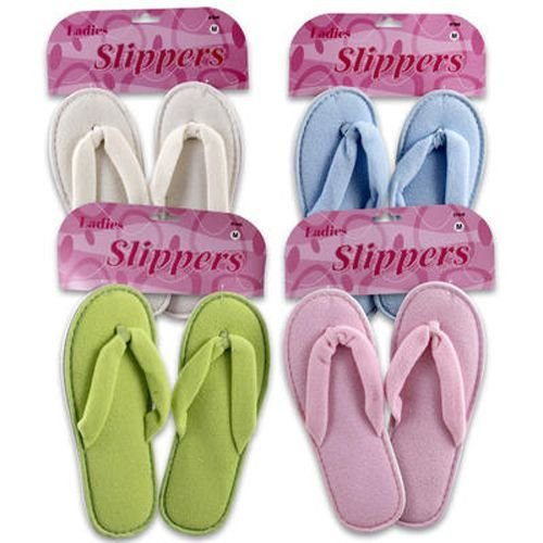 Image of Ladies Slippers, Flip Flop Style Case Pack 48 (B007XX65EM)