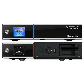 gigablue HD 800Ultra UE Linux Full HD HDTV Récepteur USB