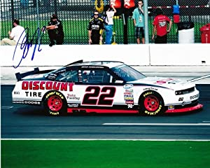 Buy AUTOGRAPHED 2012 Brad Keselowski #22 Discount Tire Racing (Dodge Challenger) SIGNED NASCAR 8X10 Glossy Photo w  COA by Trackside Autographs