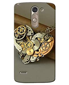 FurnishFantasy 3D Printed Designer Back Case Cover for LG G3 Stylus