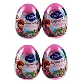 4 Disney Frozen Surprise Eggs With Toy And Candy Inside. Exciting And Fun Toy By Bon Bon Buddies For Children...