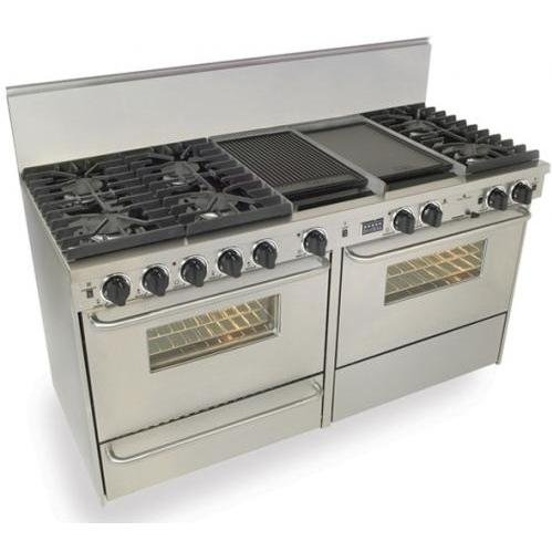 Five Star 60In Stainless Steel Freestanding DualFuel Range - TTN6377BW