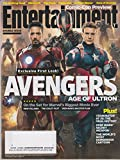 Entertainment Weekly July 25/August 1 2014 Robert Downey Jr  Chris Evans Avengers Age of Ultron