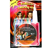 Will Roya¡®s Deluxe Balloon Twisting Kit with DVD, Inflator and Balloons