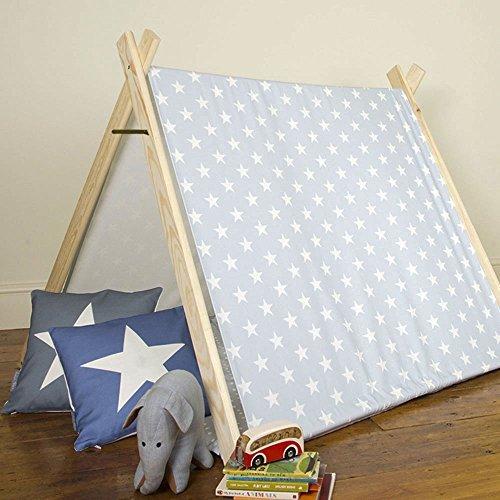 Kinder Spiel Zelt – Graue Star – Designiert, Bedruckt & handgefertigt in Großbritannien – nicht personalisiert, Innen günstig