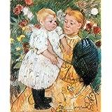 """Kunstdruck (Mary Cassatt - Im Garten) als Poster, Leinwandbild, Dibondbild oder auf Acrylglas in verschiedenen Formatenvon """"bilder-bilderrahmen.de"""""""