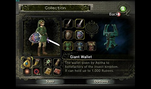 The Legend of Zelda: Twilight Princess 100% Unlocked Complete Memory Card