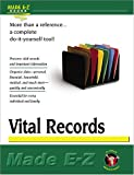 Vital Records (Made E-Z Guides) (1563825287) by Made E-Z