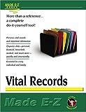 Vital Records (Made E-Z Guides) (1563825287) by Made E-Z