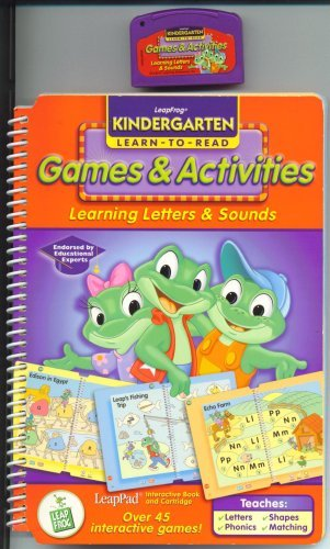 Leapfrog Games & Activities, Learning Letters & Sounds - 1