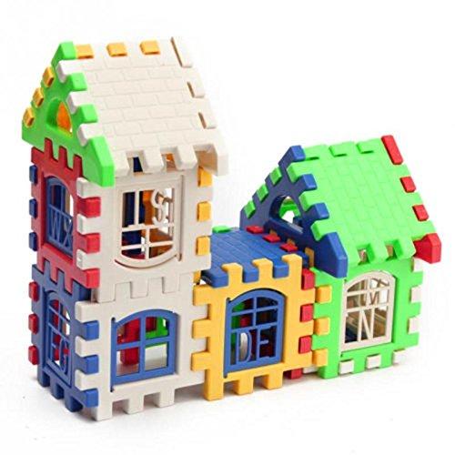 Bei Wang Niños Casa de construcción Bloques de Construcción del Desarrollo Montado Puzzle conjunto de juguete