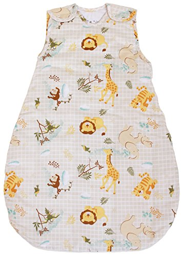 Baby Sleeping Bag Safari, 1 TOG Summer Model (Medium (10 - 24 mos))