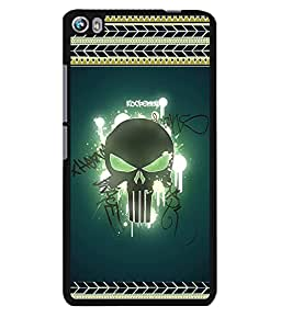 Fuson 2D Printed Skull Designer back case cover for Micromax Canvas Fire 4 A107 - D4183