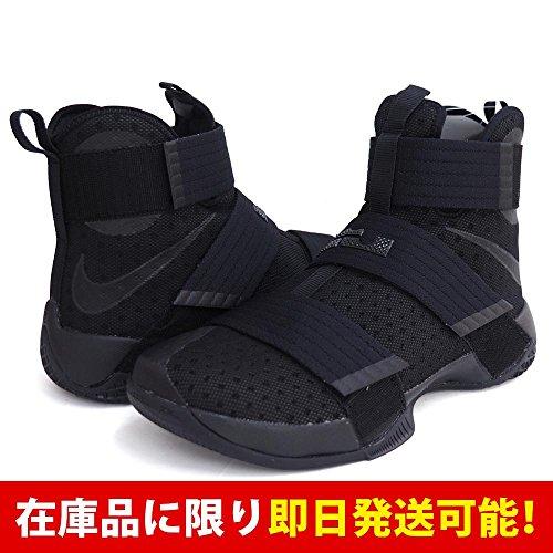 Nike(ナイキ) LEBRON/レブロン レブロンソルジャー10EP 844375-001 (ブラック/ブラック) - US10.5(28.5cm) [並行輸入品]