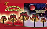 10 Piece Christmas Bell Pathway Light Set