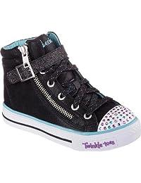 Skechers Kids Twinkle Toe Heart and Sole Light-Up Sneaker (Little Kid/Big Kid)
